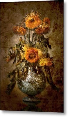Sunflowers Metal Print by Marc Huebner