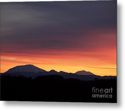 Sunrise 3 Metal Print by Chalet Roome-Rigdon