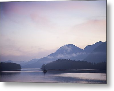 Sunrise In The Great Bear Rainforest Metal Print by Taylor S. Kennedy