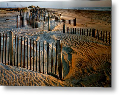 Sunrise On Hatteras II Metal Print by Steven Ainsworth