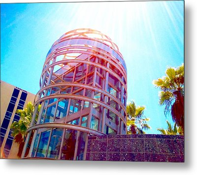 Sunroof Tower Metal Print by Rom Galicia
