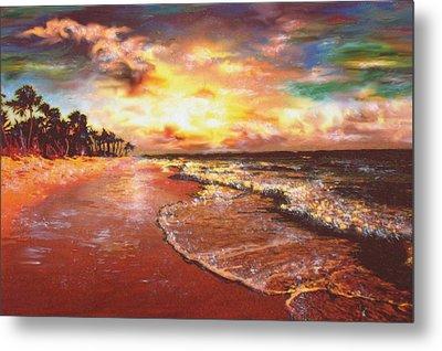 Sunset 3 Metal Print by Eric Sosnowski