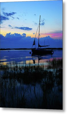 Sunset Calm Metal Print by Rick Berk