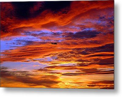 Sunset Pattern Metal Print by Dan Myers