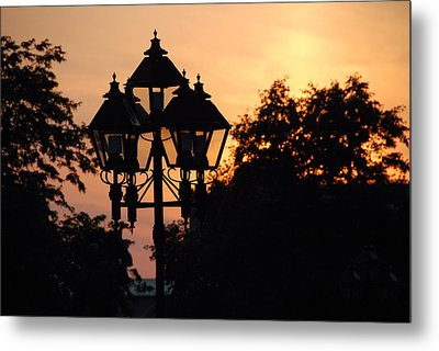 Sunset Place Vouquelin Metal Print by John Schneider