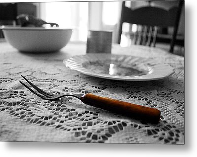 Suppertime Metal Print by Amber Davis