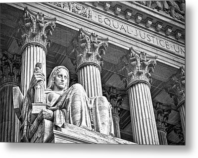 Supreme Court Building 17 Metal Print by Val Black Russian Tourchin