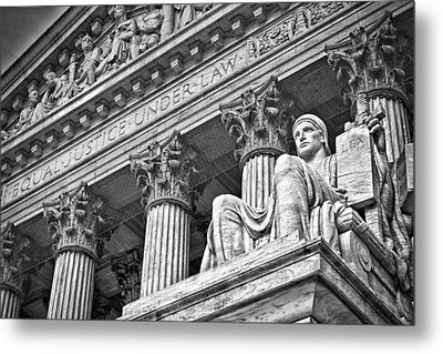 Supreme Court Building 20 Metal Print by Val Black Russian Tourchin