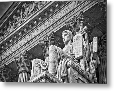 Supreme Court Building 21 Metal Print by Val Black Russian Tourchin