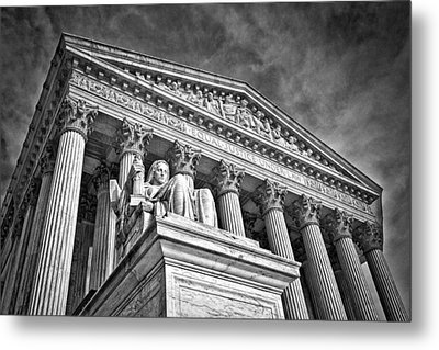 Supreme Court Building 7 Metal Print by Val Black Russian Tourchin
