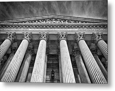 Supreme Court Building 9 Metal Print by Val Black Russian Tourchin