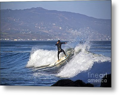 Surfer Metal Print by Molly Heng