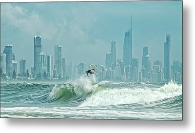 Surfers Paradise Metal Print by Thomas Kurmeier