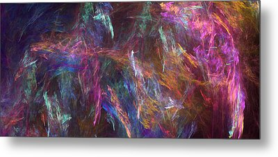 Surtido Metal Print by RochVanh