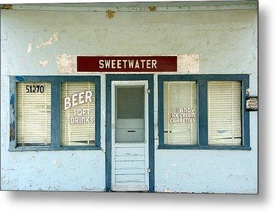 Sweetwater Store Metal Print by Jeff Lowe