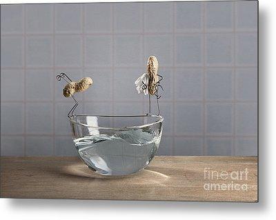 Swimming Pool Metal Print by Nailia Schwarz