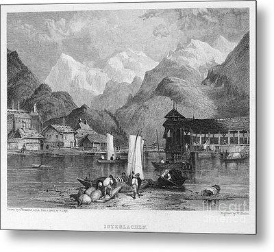 Switzerland: Interlachen Metal Print by Granger