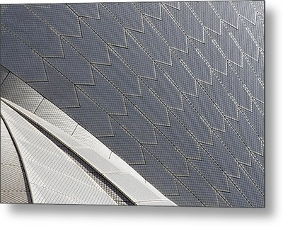 Sydney Opera House Roof Metal Print by Martin Cameron