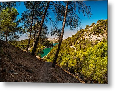 Symphony Of Nature. El Chorro. Spain Metal Print by Jenny Rainbow