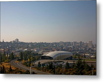 Tacoma's Grand Entrance Metal Print by Robby Green