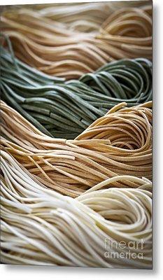 Tagliolini Pasta Metal Print by Elena Elisseeva