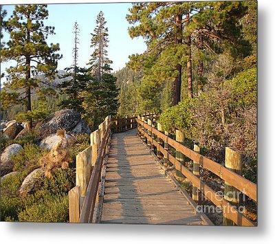 Tahoe Bridge Metal Print by Silvie Kendall