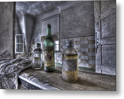 Take Your Soviet Medicine Metal Print by Nathan Wright