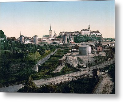 Tallinn Estonia - Formerly Reval Russia Ca 1900 Metal Print by International  Images