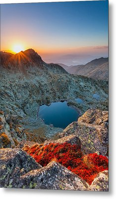 Tears Of The Giant Metal Print by Evgeni Dinev