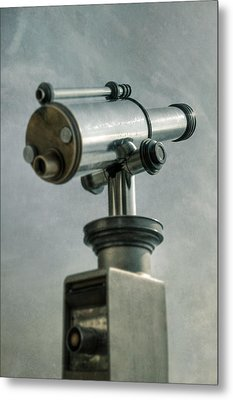 Telescope Metal Print by Joana Kruse