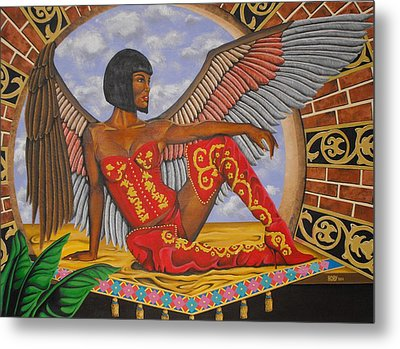Temptation Metal Print by William Roby