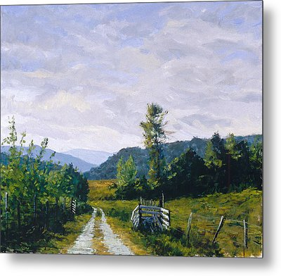 Tennessee Farm Metal Print by Mark Lunde