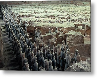 Terracotta Warriors Metal Print by Ronnie Glover