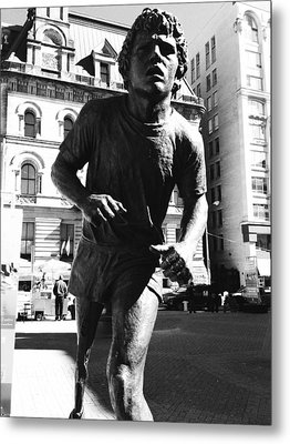 Terry Fox Metal Print by Kevin Gilchrist