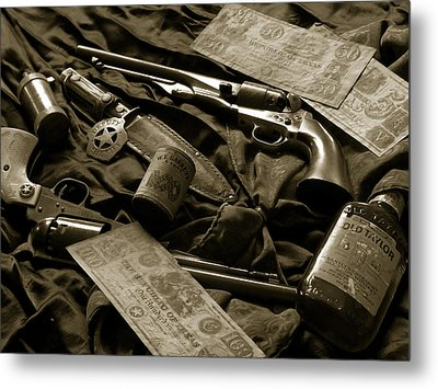 Texas Lawman Metal Print by Bill Holton