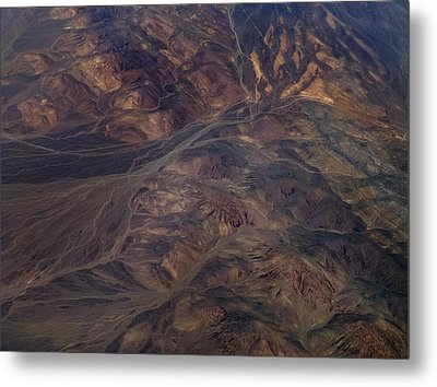 Textures Of Earth Metal Print by Naman Imagery