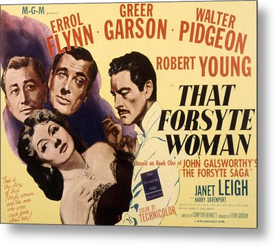 That Forsyte Woman, Greer Garson, Errol Metal Print by Everett
