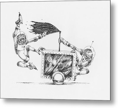 The 24 Hour Test Metal Print by Canis Canon
