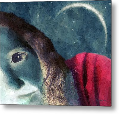 The Agony Of Saint Catherine Metal Print by RC DeWinter