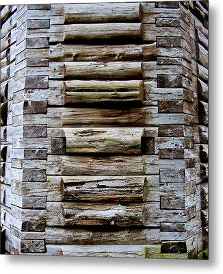 The Art Of Wood 2 Metal Print by Randall Weidner