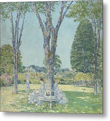 The Audition Metal Print by Childe Hassam