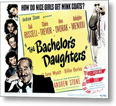 The Bachelors Daughters, Top To Bottom Metal Print by Everett