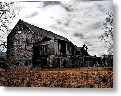 The Barn At Pawlings Farm Metal Print by Bill Cannon