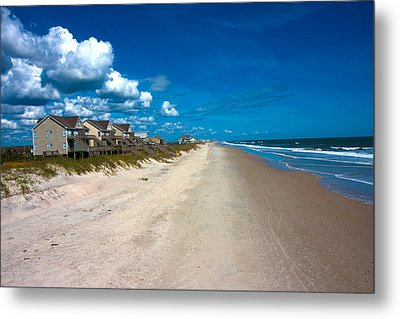 The Beach Is Yours Metal Print by Betsy C Knapp