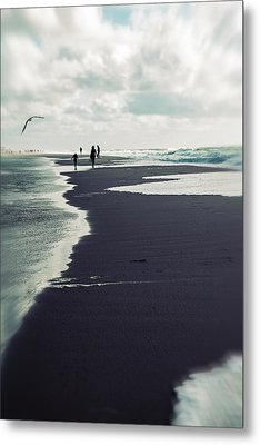 The Beach Metal Print by Joana Kruse