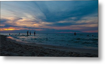 The Beach Metal Print by Tim Nichols