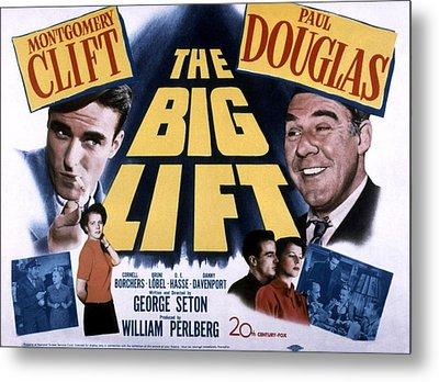 The Big Lift, Montgomery Clift, Paul Metal Print by Everett
