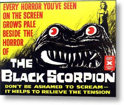 The Black Scorpion, Top Right Mara Metal Print by Everett
