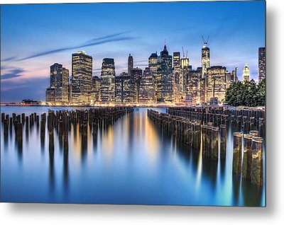 The Blue Hour Metal Print by Evelina Kremsdorf