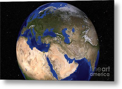 The Blue Marble Next Generation Earth Metal Print by Stocktrek Images